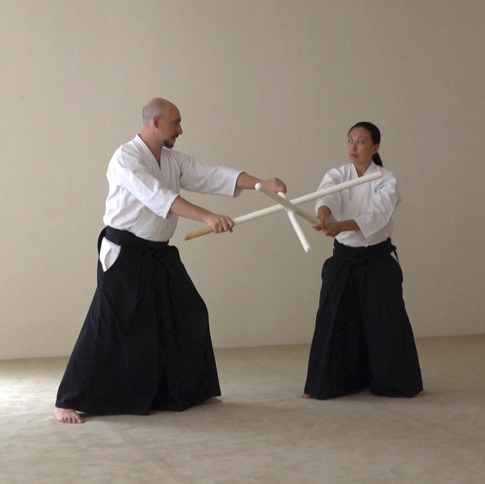 Shinkukai Kobudo: nitojutsu con fukuroshinai